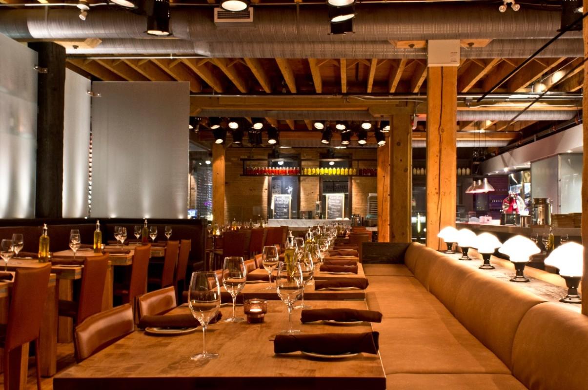 Italian Restaurants Downtown Toronto Financial District